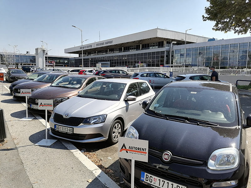 Belgrade Airport vozila za rent a car